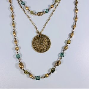 NEW YORK & COMPANY Necklace & Earrings